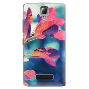 Plastové pouzdro iSaprio Autumn 01 na mobil Lenovo A2010