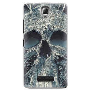Plastové pouzdro iSaprio Abstract Skull na mobil Lenovo A2010