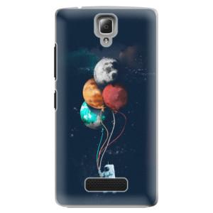 Plastové pouzdro iSaprio Balloons 02 na mobil Lenovo A2010