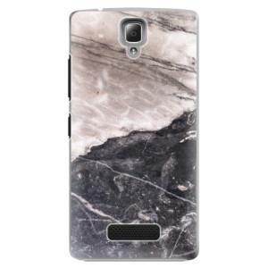 Plastové pouzdro iSaprio BW Marble na mobil Lenovo A2010