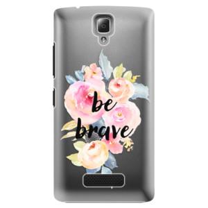 Plastové pouzdro iSaprio Be Brave na mobil Lenovo A2010