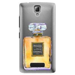 Plastové pouzdro iSaprio Chanel Gold na mobil Lenovo A2010