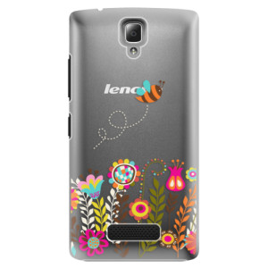 Plastové pouzdro iSaprio Bee 01 na mobil Lenovo A2010