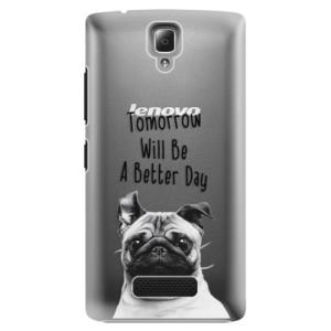 Plastové pouzdro iSaprio Better Day 01 na mobil Lenovo A2010