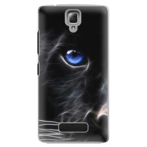 Plastové pouzdro iSaprio Black Puma na mobil Lenovo A2010