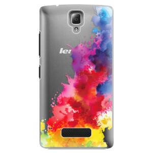 Plastové pouzdro iSaprio Color Splash 01 na mobil Lenovo A2010