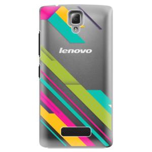 Plastové pouzdro iSaprio Color Stripes 03 na mobil Lenovo A2010