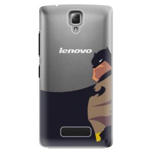 Plastové pouzdro iSaprio BaT Comics na mobil Lenovo A2010