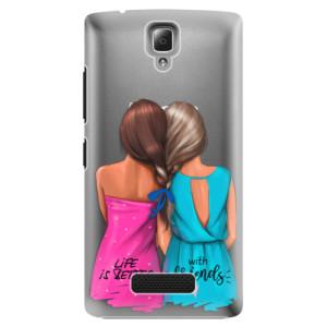 Plastové pouzdro iSaprio Best Friends na mobil Lenovo A2010