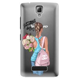 Plastové pouzdro iSaprio Beautiful Day na mobil Lenovo A2010