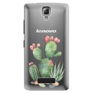 Plastové pouzdro iSaprio Cacti 01 na mobil Lenovo A2010