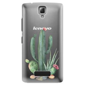 Plastové pouzdro iSaprio Cacti 02 na mobil Lenovo A2010