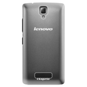 Plastové pouzdro iSaprio 4Pure mléčné bez potisku na mobil Lenovo A2010