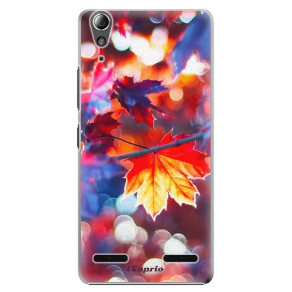 Plastové pouzdro iSaprio Autumn Leaves 02 na mobil Lenovo A6000 / K3 (Plastový obal, kryt, pouzdro iSaprio Autumn Leaves 02 na mobilní telefon Lenovo A6000 / K3)