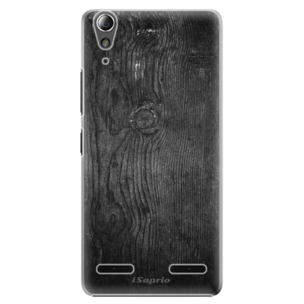Plastové pouzdro iSaprio Black Wood 13 na mobil Lenovo A6000 / K3 (Plastový obal, kryt, pouzdro iSaprio Black Wood 13 na mobilní telefon Lenovo A6000 / K3)