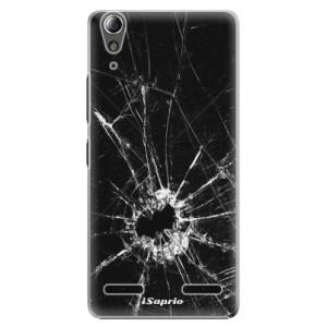 Plastové pouzdro iSaprio Broken Glass 10 na mobil Lenovo A6000 / K3