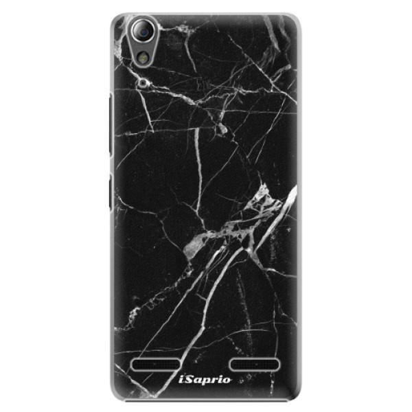 Plastové pouzdro iSaprio Black Marble 18 na mobil Lenovo A6000 / K3 (Plastový obal, kryt, pouzdro iSaprio Black Marble 18 na mobilní telefon Lenovo A6000 / K3)