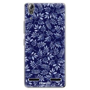 Plastové pouzdro iSaprio Blue Leaves 05 na mobil Lenovo A6000 / K3