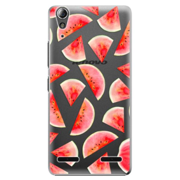 Plastové pouzdro iSaprio Melon Pattern 02 na mobil Lenovo A6000 / K3 (Plastový obal, kryt, pouzdro iSaprio Melon Pattern 02 na mobilní telefon Lenovo A6000 / K3)