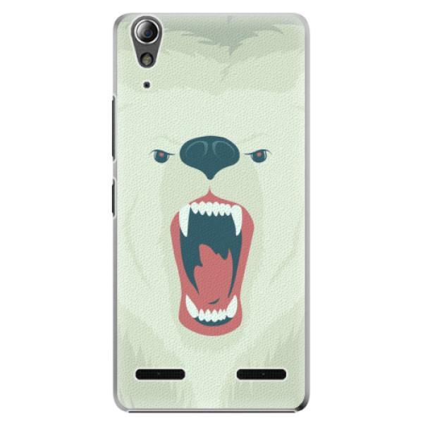 Plastové pouzdro iSaprio Angry Bear na mobil Lenovo A6000 / K3 (Plastový obal, kryt, pouzdro iSaprio Angry Bear na mobilní telefon Lenovo A6000 / K3)