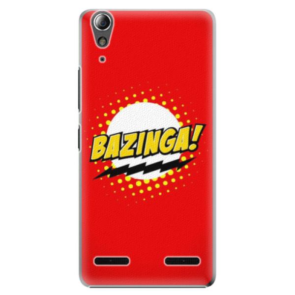 Plastové pouzdro iSaprio Bazinga 01 na mobil Lenovo A6000 / K3 (Plastový obal, kryt, pouzdro iSaprio Bazinga 01 na mobilní telefon Lenovo A6000 / K3)