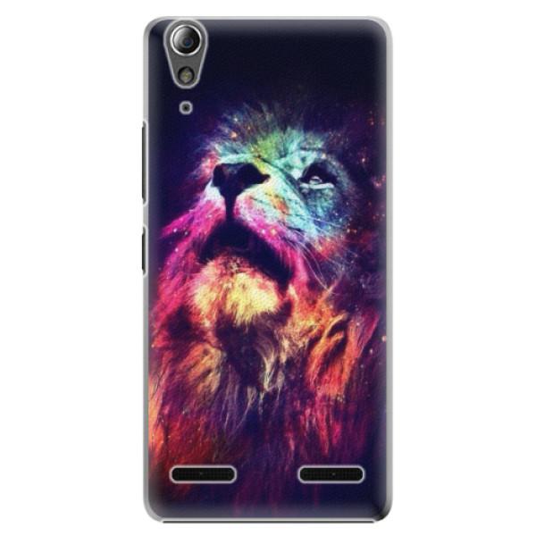 Plastové pouzdro iSaprio Lion in Colors na mobil Lenovo A6000 / K3 (Plastový obal, kryt, pouzdro iSaprio Lion in Colors na mobilní telefon Lenovo A6000 / K3)