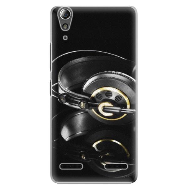 Plastové pouzdro iSaprio Headphones 02 na mobil Lenovo A6000 / K3 (Plastový obal, kryt, pouzdro iSaprio Headphones 02 na mobilní telefon Lenovo A6000 / K3)