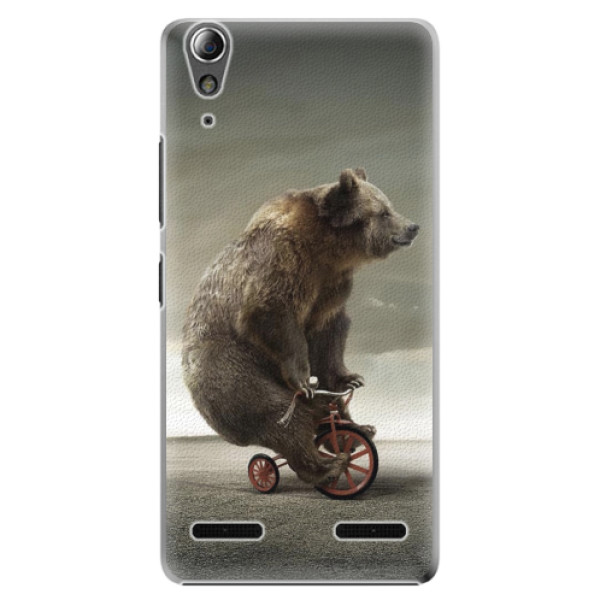 Plastové pouzdro iSaprio Bear 01 na mobil Lenovo A6000 / K3 (Plastový obal, kryt, pouzdro iSaprio Bear 01 na mobilní telefon Lenovo A6000 / K3)