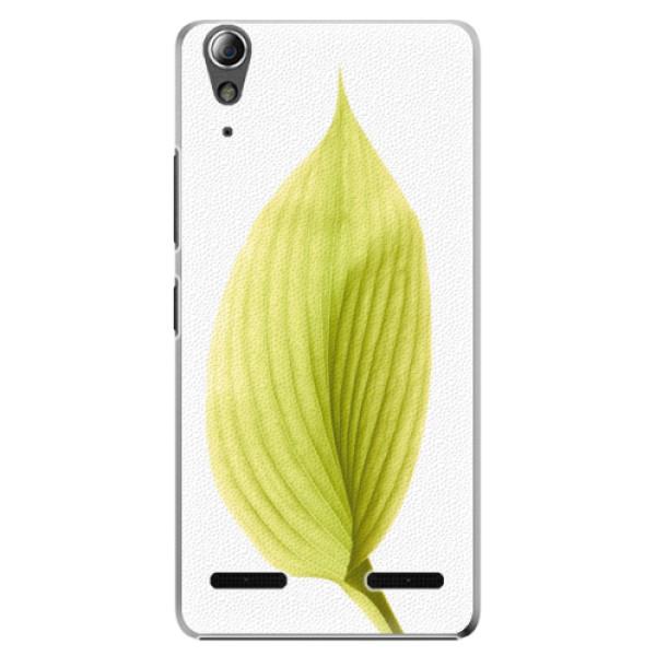 Plastové pouzdro iSaprio Green Leaf na mobil Lenovo A6000 / K3 (Plastový obal, kryt, pouzdro iSaprio Green Leaf na mobilní telefon Lenovo A6000 / K3)