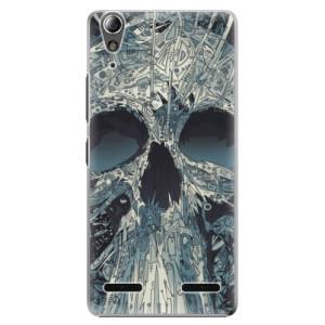Plastové pouzdro iSaprio Abstract Skull na mobil Lenovo A6000 / K3