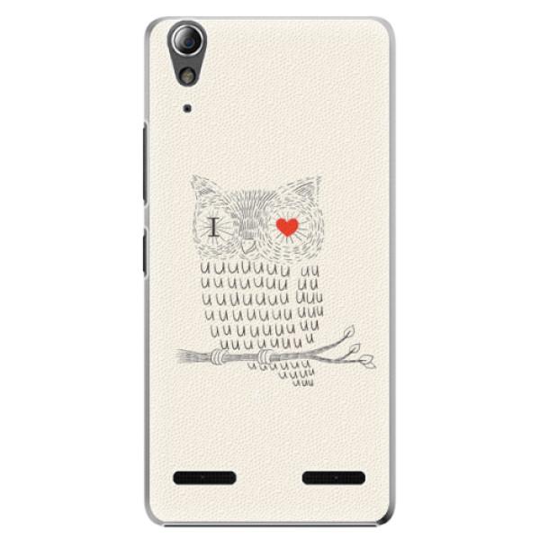 Plastové pouzdro iSaprio I Love You 01 na mobil Lenovo A6000 / K3 (Plastový obal, kryt, pouzdro iSaprio I Love You 01 na mobilní telefon Lenovo A6000 / K3)