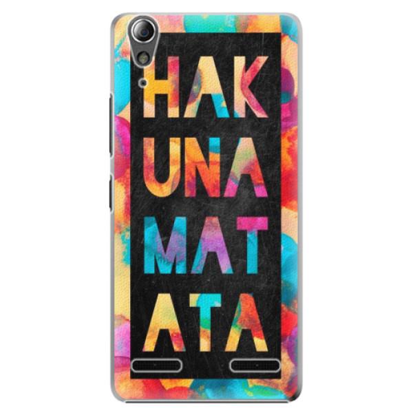 Plastové pouzdro iSaprio Hakuna Matata 01 na mobil Lenovo A6000 / K3 (Plastový obal, kryt, pouzdro iSaprio Hakuna Matata 01 na mobilní telefon Lenovo A6000 / K3)
