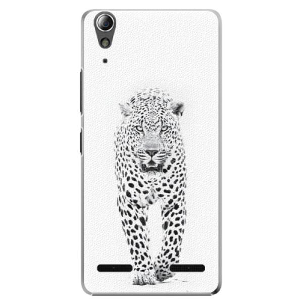 Plastové pouzdro iSaprio white Jaguar na mobil Lenovo A6000 / K3 (Plastový obal, kryt, pouzdro iSaprio white Jaguar na mobilní telefon Lenovo A6000 / K3)