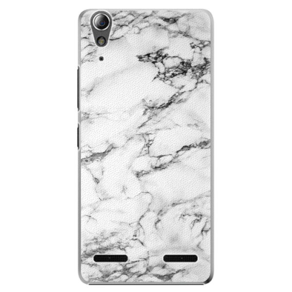 Plastové pouzdro iSaprio white Marble 01 na mobil Lenovo A6000 / K3 (Plastový obal, kryt, pouzdro iSaprio white Marble 01 na mobilní telefon Lenovo A6000 / K3)