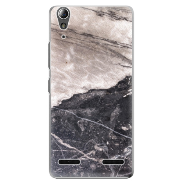 Plastové pouzdro iSaprio BW Marble na mobil Lenovo A6000 / K3 (Plastový obal, kryt, pouzdro iSaprio BW Marble na mobilní telefon Lenovo A6000 / K3)