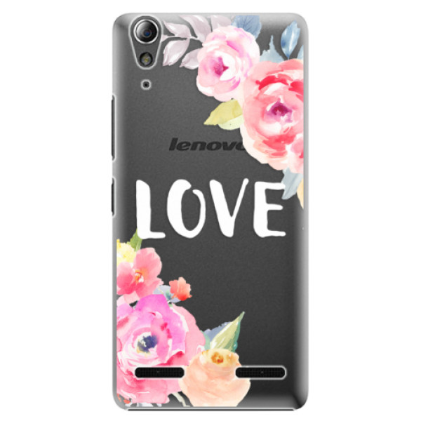 Plastové pouzdro iSaprio Love na mobil Lenovo A6000 / K3 (Plastový obal, kryt, pouzdro iSaprio Love na mobilní telefon Lenovo A6000 / K3)