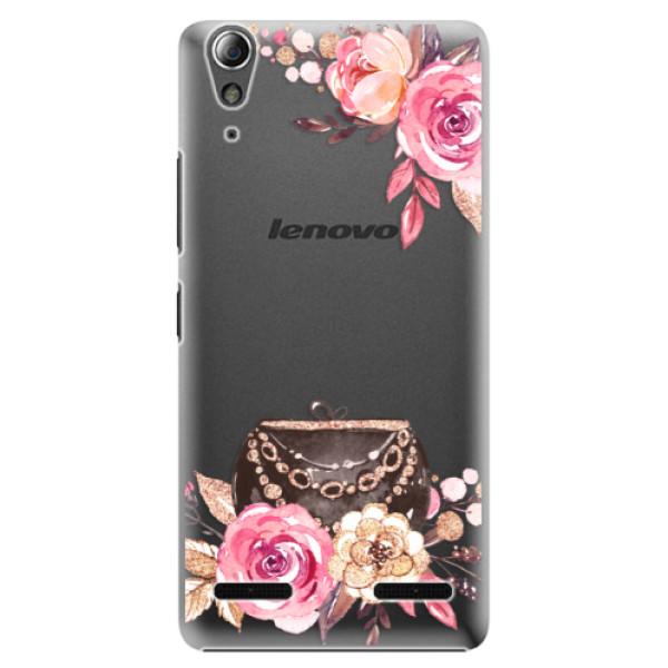 Plastové pouzdro iSaprio Handbag 01 na mobil Lenovo A6000 / K3 (Plastový obal, kryt, pouzdro iSaprio Handbag 01 na mobilní telefon Lenovo A6000 / K3)