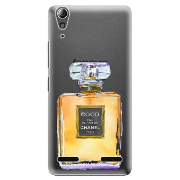 Plastové pouzdro iSaprio Chanel Gold na mobil Lenovo A6000 / K3 (Plastový obal, kryt, pouzdro iSaprio Chanel Gold na mobilní telefon Lenovo A6000 / K3)