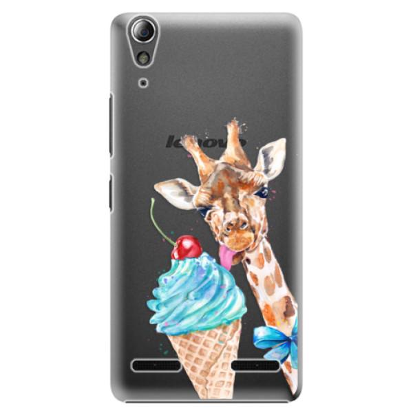 Plastové pouzdro iSaprio Love Ice Cream na mobil Lenovo A6000 / K3 (Plastový obal, kryt, pouzdro iSaprio Love Ice Cream na mobilní telefon Lenovo A6000 / K3)