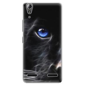 Plastové pouzdro iSaprio Black Puma na mobil Lenovo A6000 / K3