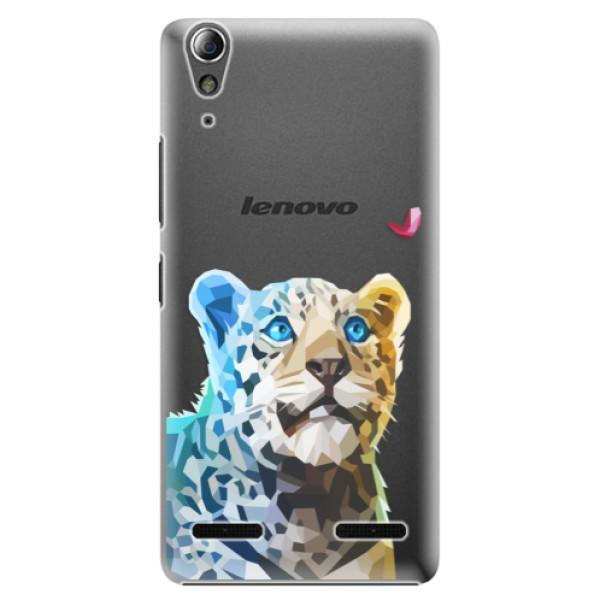 Plastové pouzdro iSaprio Leopard With Butterfly na mobil Lenovo A6000 / K3 (Plastový obal, kryt, pouzdro iSaprio Leopard With Butterfly na mobilní telefon Lenovo A6000 / K3)