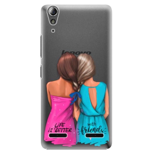 Plastové pouzdro iSaprio Best Friends na mobil Lenovo A6000 / K3 (Plastový obal, kryt, pouzdro iSaprio Best Friends na mobilní telefon Lenovo A6000 / K3)