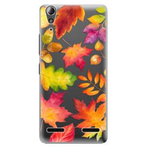 Plastové pouzdro iSaprio Autumn Leaves 01 na mobil Lenovo A6000 / K3
