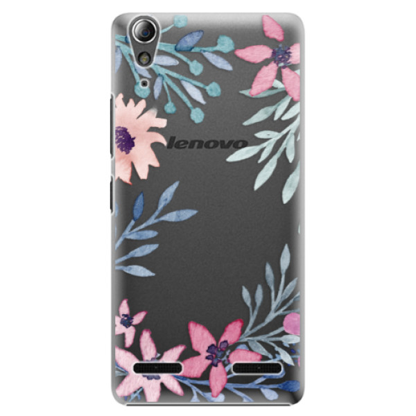 Plastové pouzdro iSaprio Leaves and Flowers na mobil Lenovo A6000 / K3 (Plastový obal, kryt, pouzdro iSaprio Leaves and Flowers na mobilní telefon Lenovo A6000 / K3)