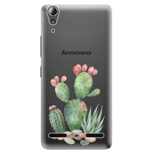 Plastové pouzdro iSaprio Cacti 01 na mobil Lenovo A6000 / K3 (Plastový obal, kryt, pouzdro iSaprio Cacti 01 na mobilní telefon Lenovo A6000 / K3)