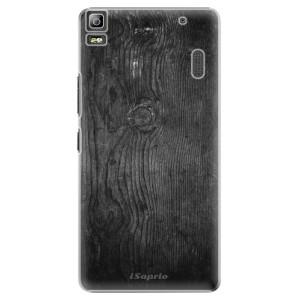 Plastové pouzdro iSaprio Black Wood 13 na mobil Lenovo A7000