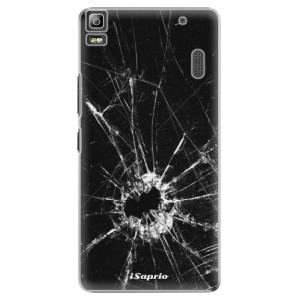 Plastové pouzdro iSaprio Broken Glass 10 na mobil Lenovo A7000