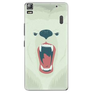 Plastové pouzdro iSaprio Angry Bear na mobil Lenovo A7000