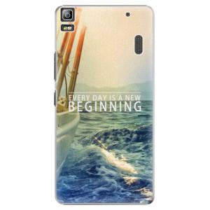 Plastové pouzdro iSaprio Beginning na mobil Lenovo A7000