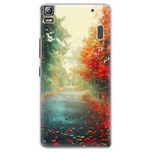 Plastové pouzdro iSaprio Autumn 03 na mobil Lenovo A7000